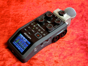 Zoom H6 – perspective 1